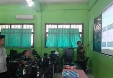 Monitoring Kepala Kanwil Kementrian Agama Provinsi DKI Jakarta tentang proses Pembelajaran Jarak Jauh