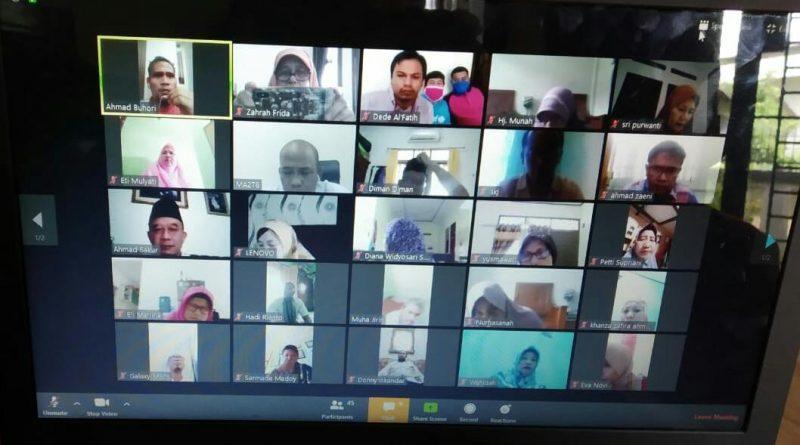 Dampak Pandemi Covid-19, Rapat Dinas lewat Video Conference